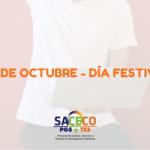 DÍA FESTIVO-12 DE OCTUBRE